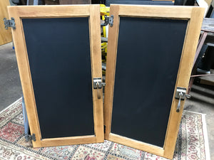 Ice chest chalkboards