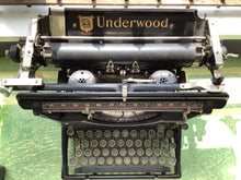 Load image into Gallery viewer, underwood typewriter