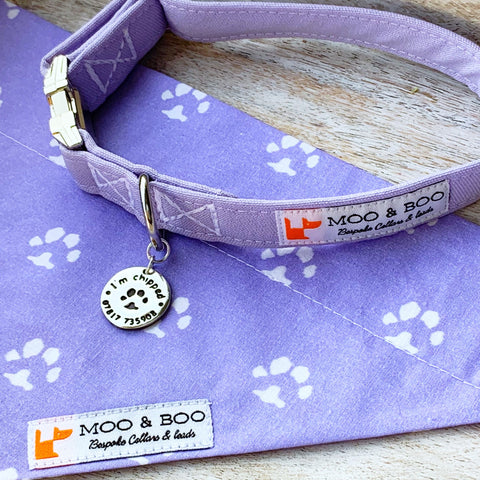 Moo & Boo Pooch Pamper Package - Silver Magpie Fingerprint Jewellery