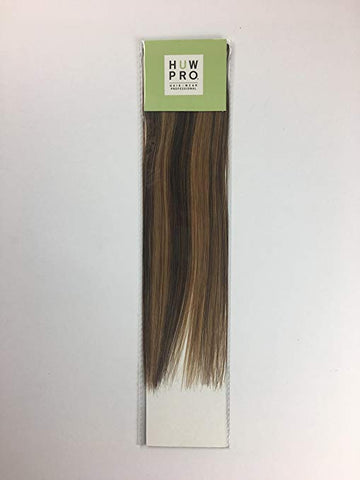 HUW Pro Clip-in Hair Extensions Uptown Brown 8  12 inch or 18 inch