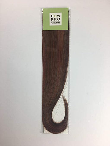 HUW Pro Clip-in Hair Extensions Drop Dead Dark Red 73  12 inch or 18 inch