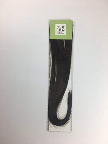 HUW Pro Clip-in Hair Extensions Not Your Basic Brown 3 12 inch or 18 inch