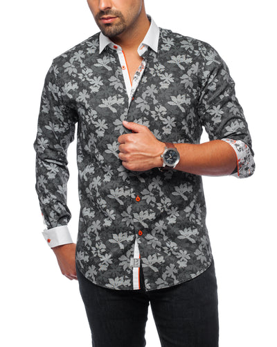 Jet Set Black Sport Shirt
