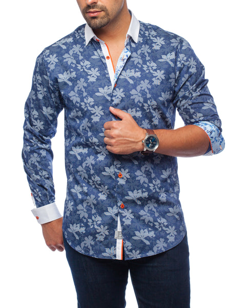 Jet Set Blue Sport Shirt