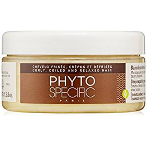 PHYTO SPECIFIC DEEP REPAIRING CREAM BATH, 6.8 OZ.