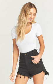 Houston High Waisted Shorts