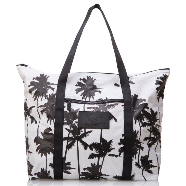Coco Palms Zipper Tote