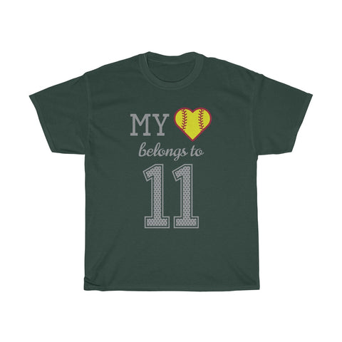 Image of My heart belongs to 11