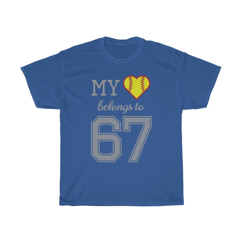 Image of My heart belongs to 67
