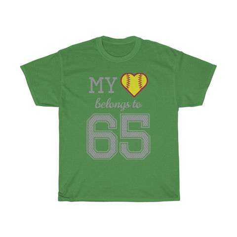 Image of My heart belongs to 65