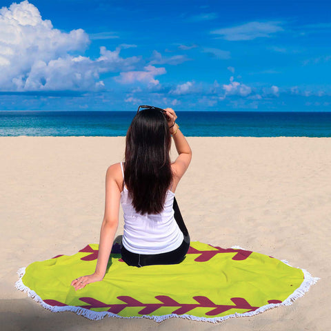 Image of Softball Beach Blanket