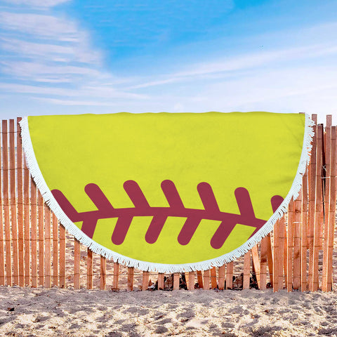 Softball Beach Blanket