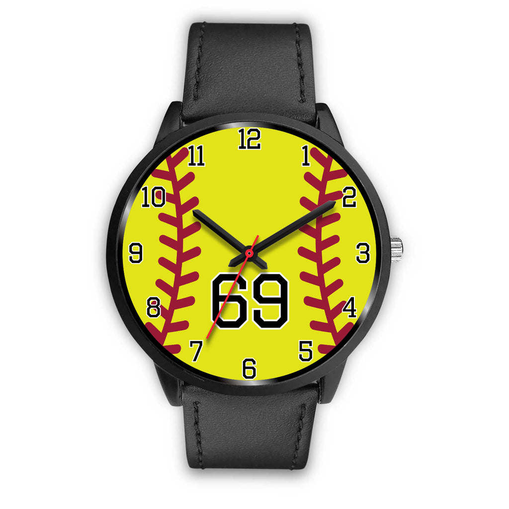 Women's Black Softball Watch -69