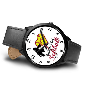 My heart beats for softball girl's watch - Catcher