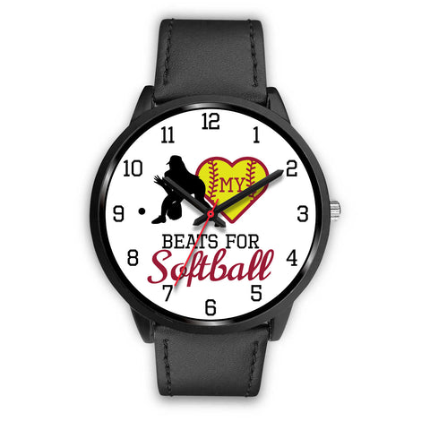 My heart beats for softball girl's watch - Fielder