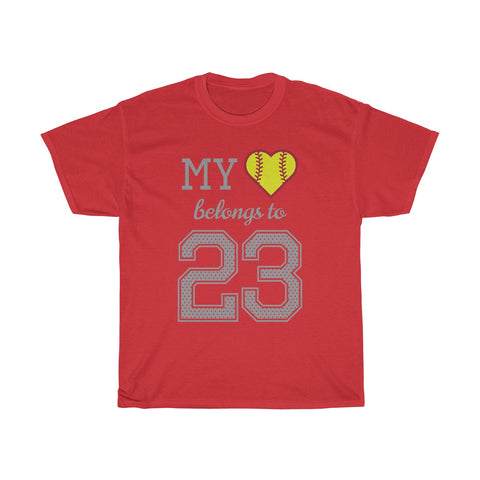 Image of My heart belongs to 23