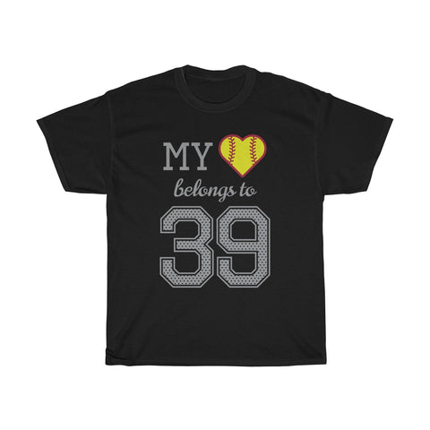 Image of My heart belongs to 39