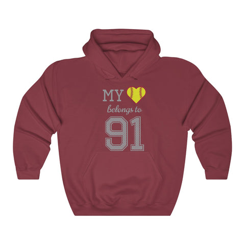 Image of My heart belongs to 91