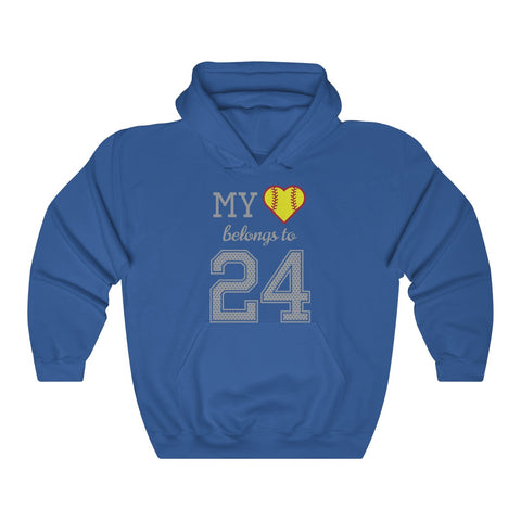 Image of My heart belongs to 24