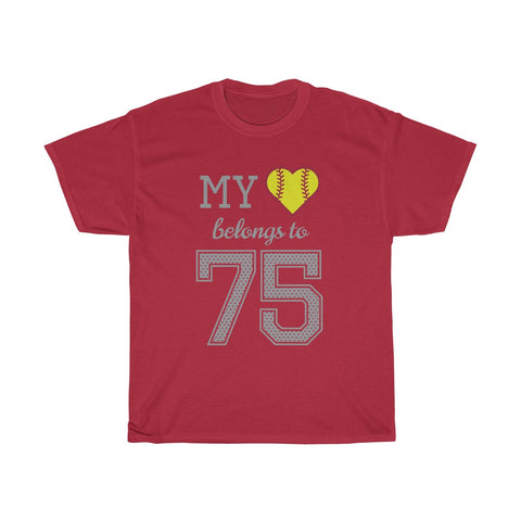 Image of My heart belongs to 75