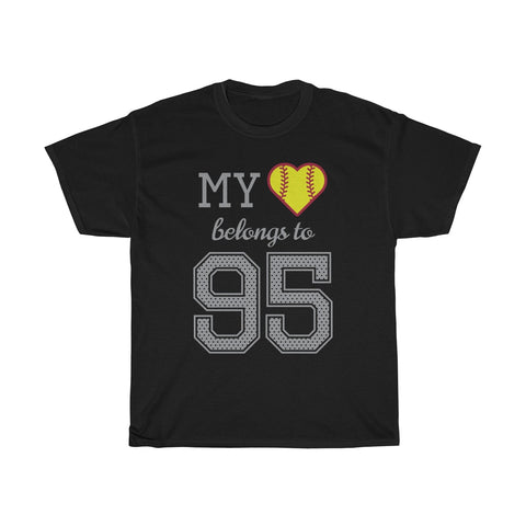 Image of My heart belongs to 95