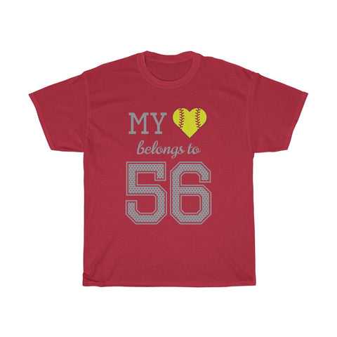 Image of My heart belongs to 56