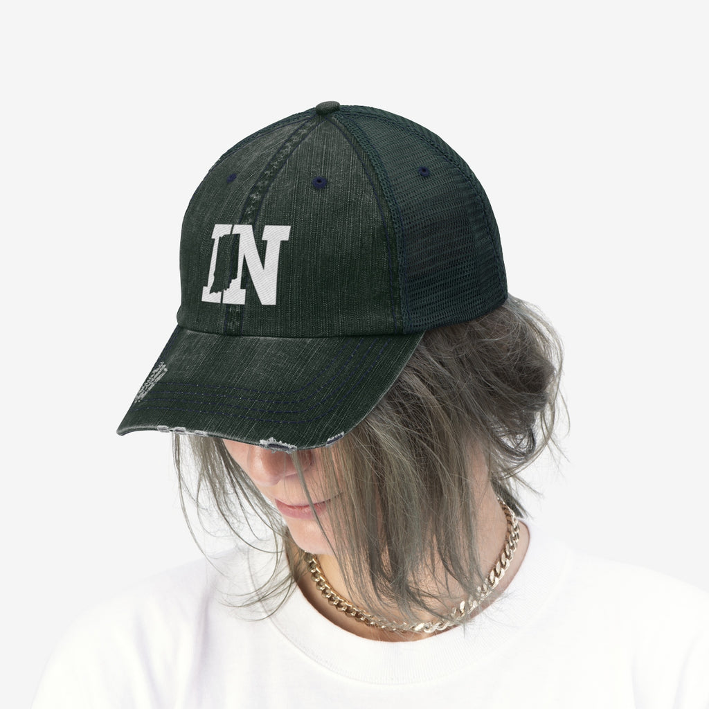 Unisex Trucker Hat - Indiana
