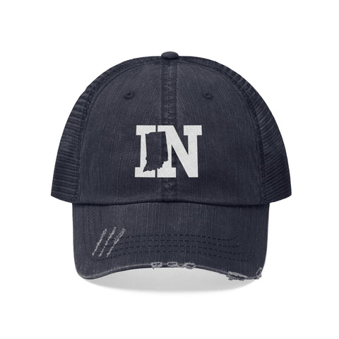 Image of Unisex Trucker Hat - Indiana