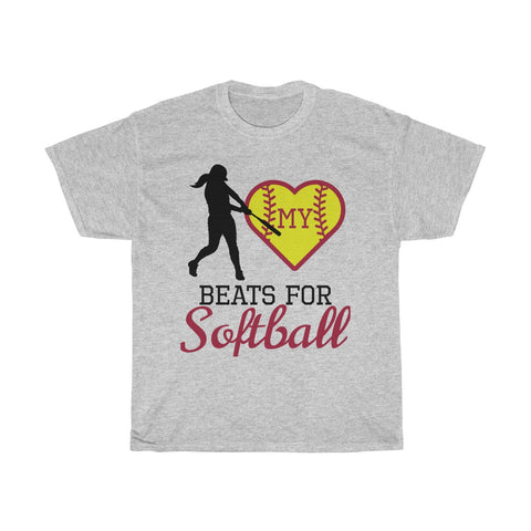 Image of My heart beats for softball (hitter)