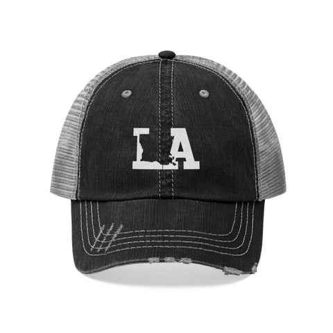 Image of Unisex Trucker Hat - Louisiana