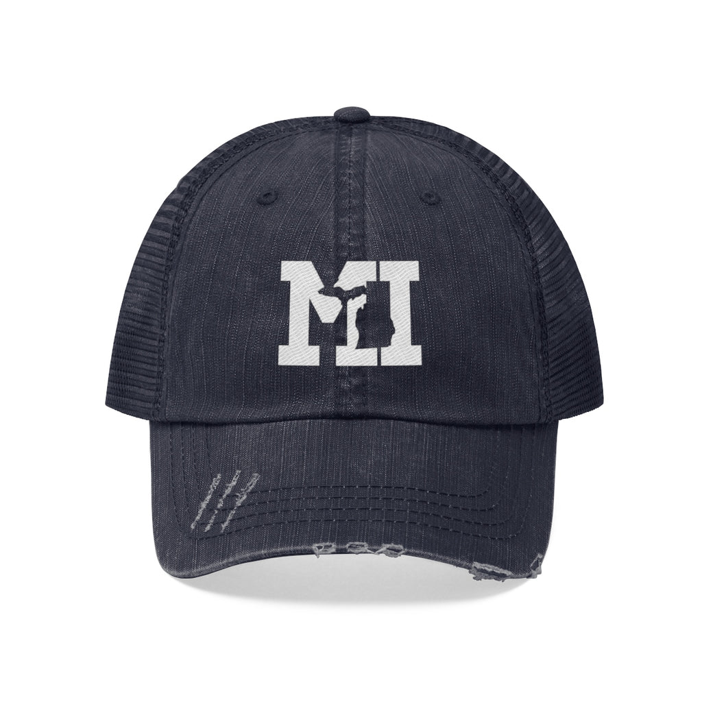 Unisex Trucker Hat - Michigan