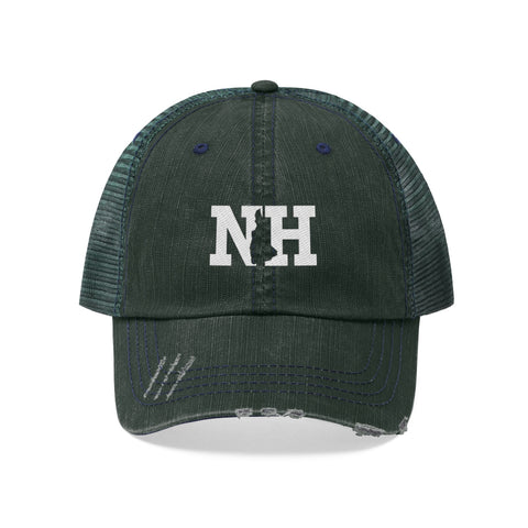 Image of Unisex Trucker Hat - New Hampshire