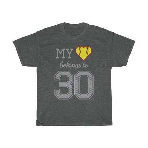 Image of My heart belongs to 30