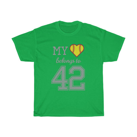 Image of My heart belongs to 42