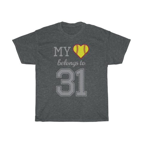 Image of My heart belongs to 31