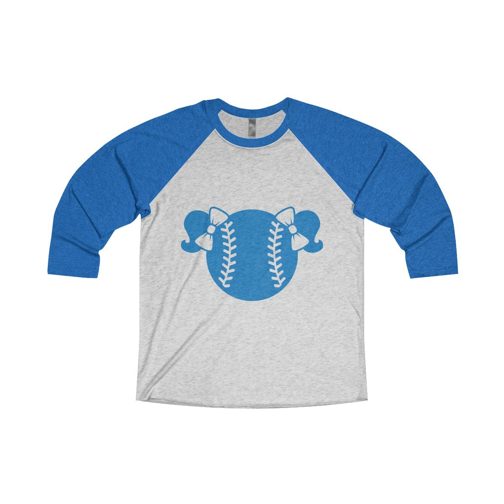 Royal Blue Baseball Tee