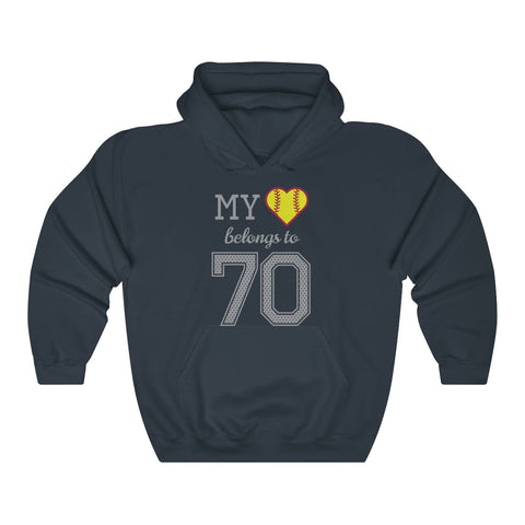 Image of My heart belongs to 70