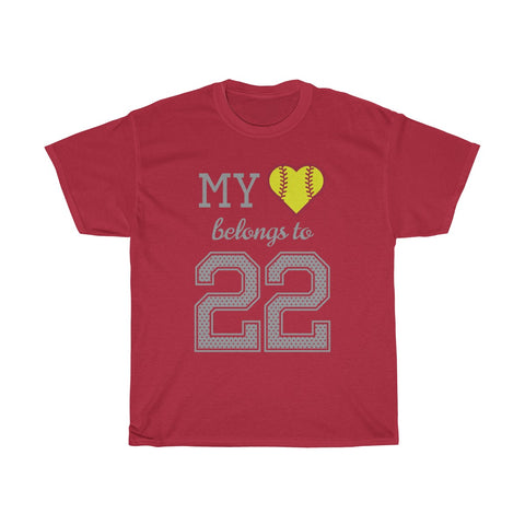 Image of My heart belongs to 22