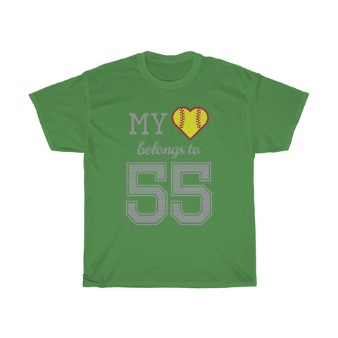 Image of My heart belongs to 55