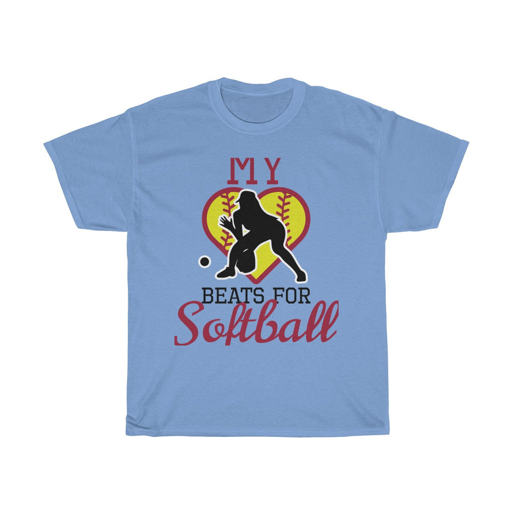 My heart beats for softball (fielder)