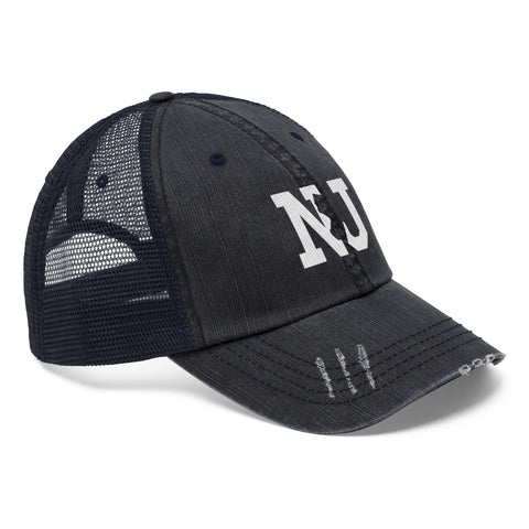 Image of Unisex Trucker Hat - New Jersey