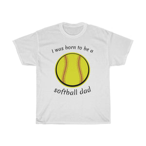 Born to be a softball dad