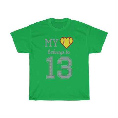 Image of My heart belongs to 13