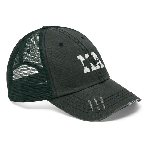 Image of Unisex Trucker Hat - Massachusetts