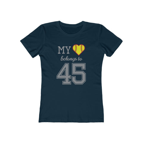 Image of My heart belongs to 45