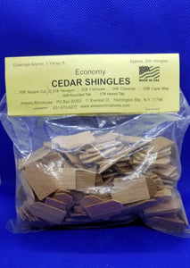 Shingles - Cedar - Hexagon