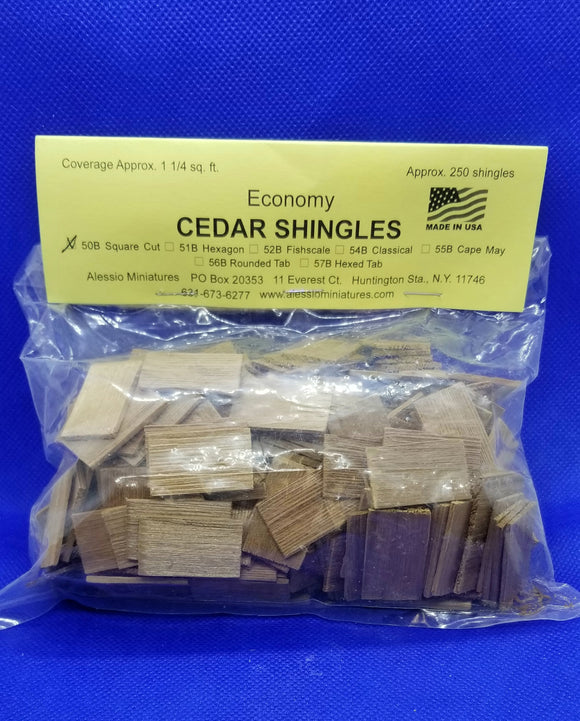 Shingles - Cedar - Square Cut