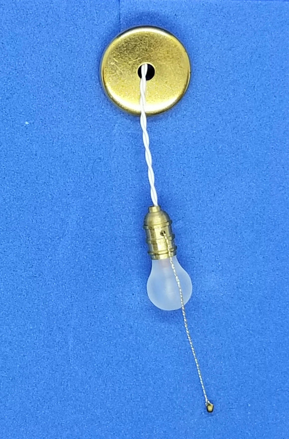 Bare Bulb with Pull Chain