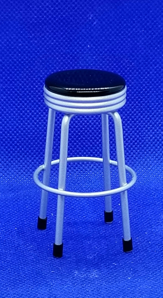Miniature Dollhouse Bar Stool Freedom Miniatures