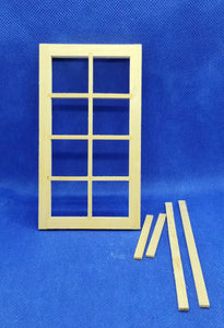 8-Pane Window